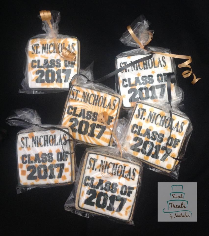 Class of 2017 cookies
