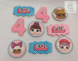 LOL Surprise doll cookies