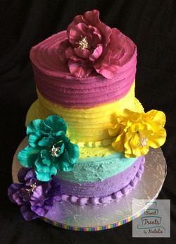 Buttercream multi-colour