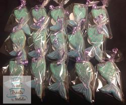Mermaid tale cookies