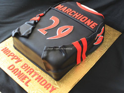 Richmond HIll Riot jersey cake