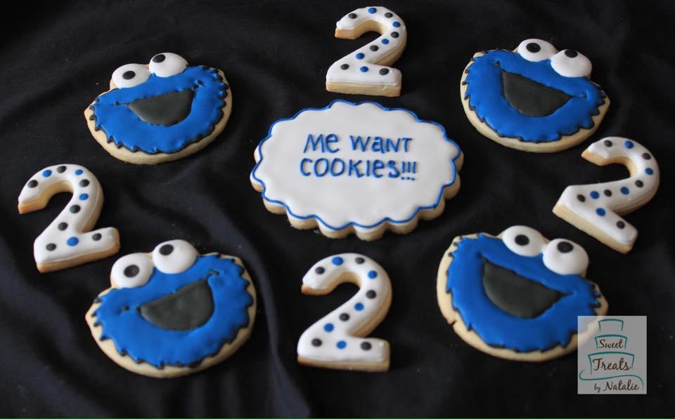 Cookie monster - Sesame Street