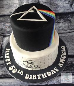 Pink Floyd themed cake