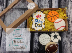 All Star Dad - Father's Day cookies