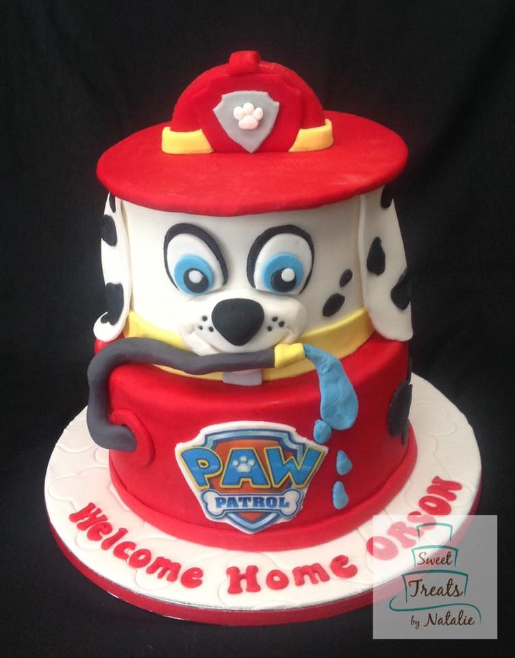 Paw Patrol - Marshall cake