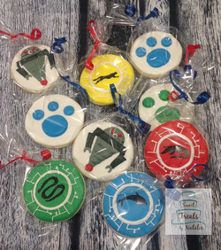 Wild Kratts cookies