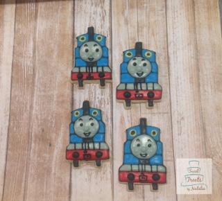 Thomas the Train cookies