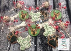 German Shepherd cookies