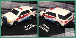 Police SUV cake