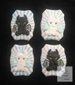 How to Train Your Dragon cookies