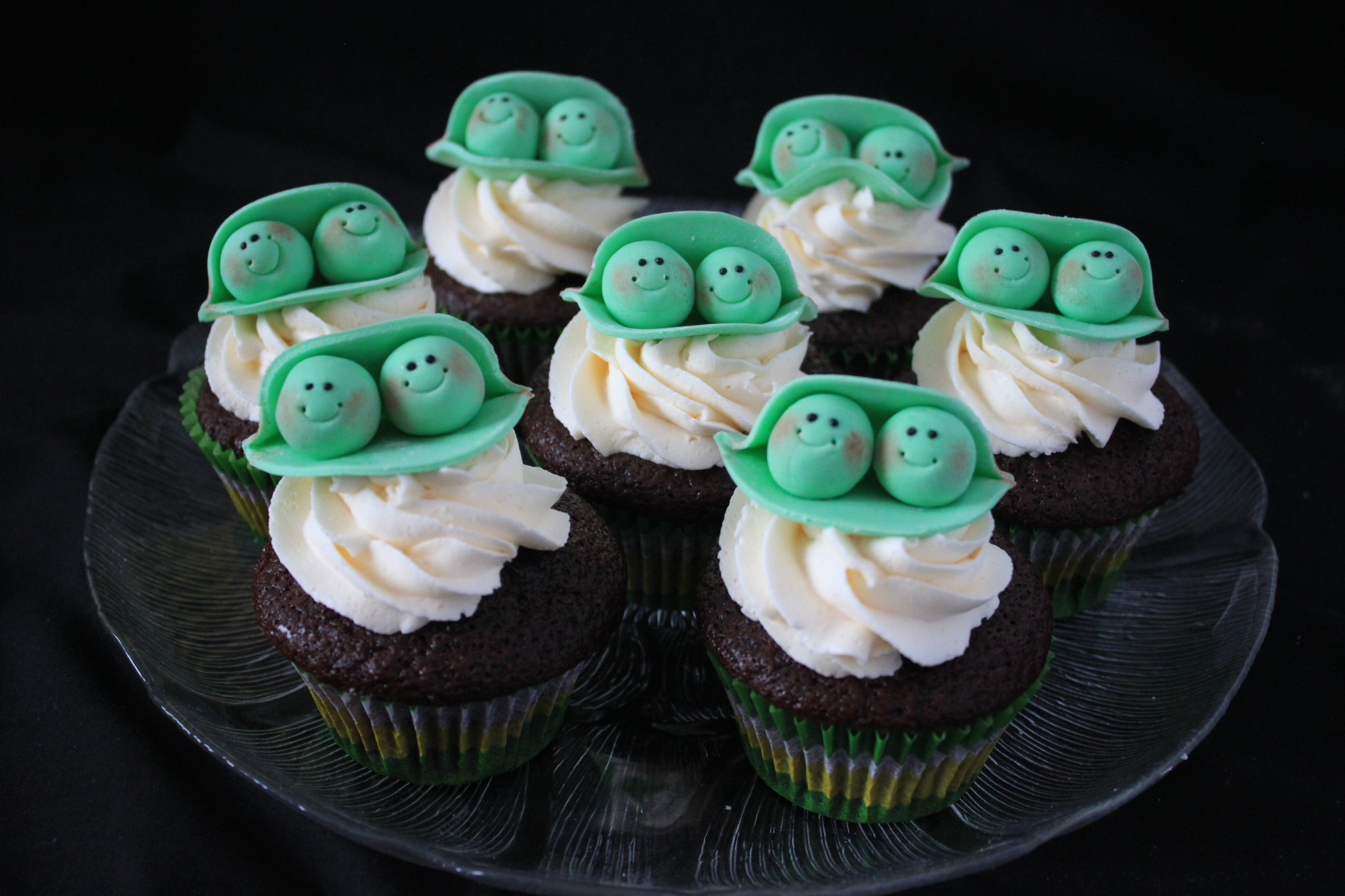 'Two peas in a pod' baby shower