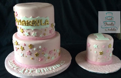 Twinkle Little Star themed cake