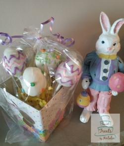 Easter egg cakepops