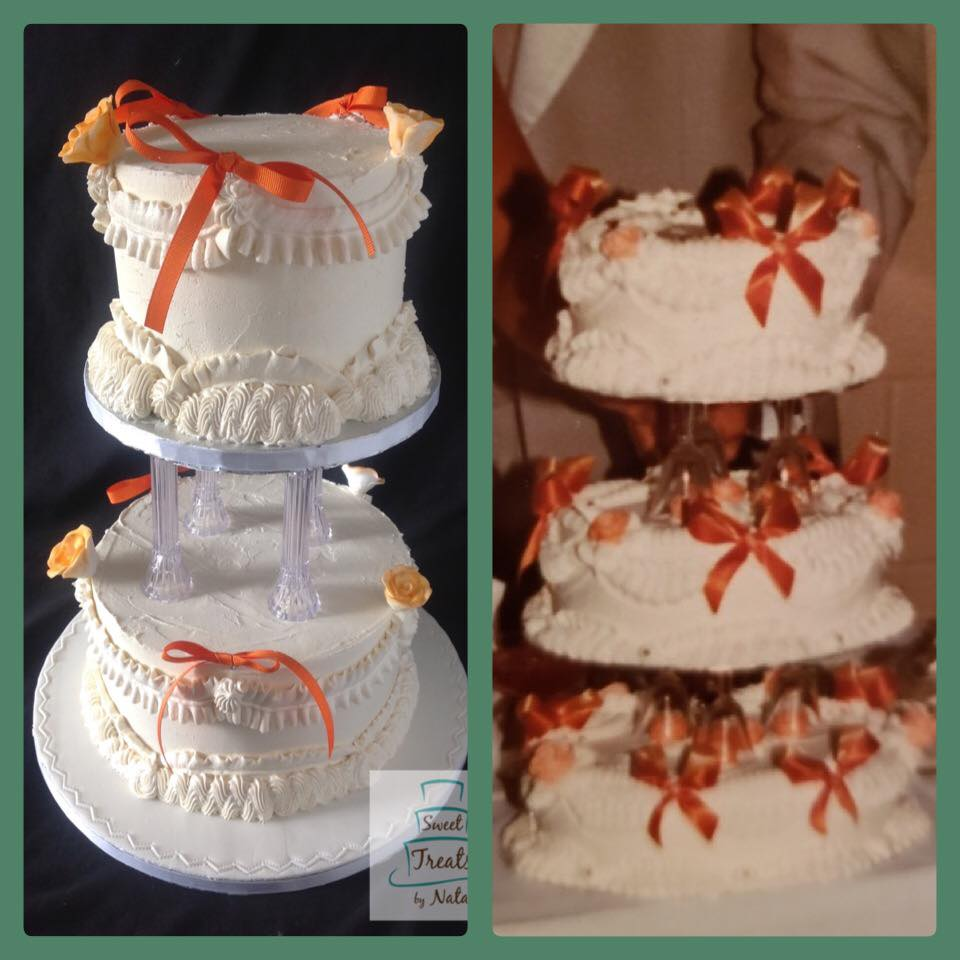 Replicated Anniversary cake