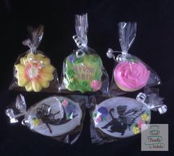 Enchanted garden Graduation cookies