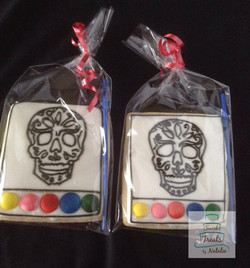 Day of the Dead PYO cookies