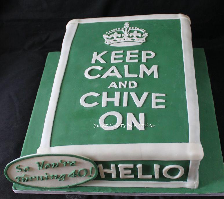 Chive on birthday