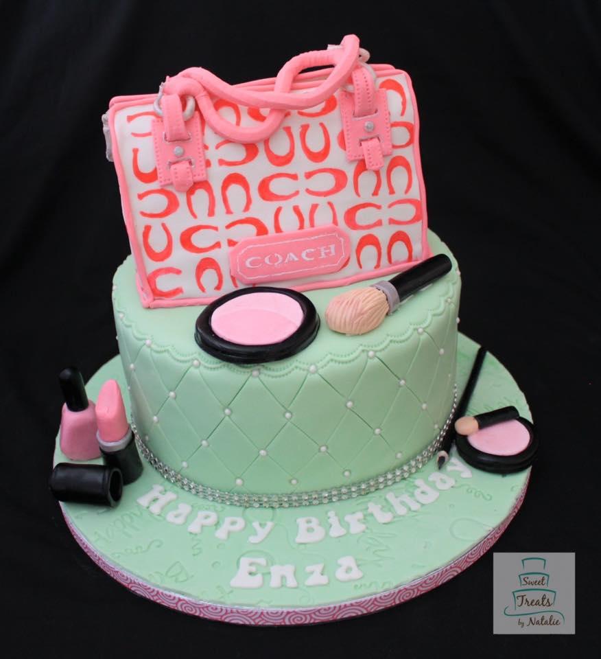 Coach purse birthday cake