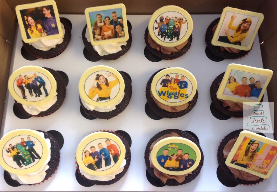 The Wiggles edible images