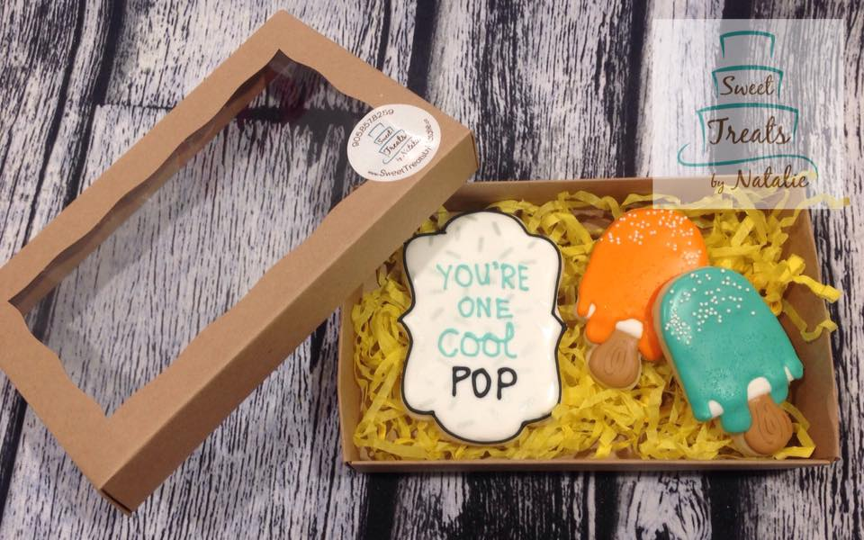 Cool Pop - Father's Day cookies