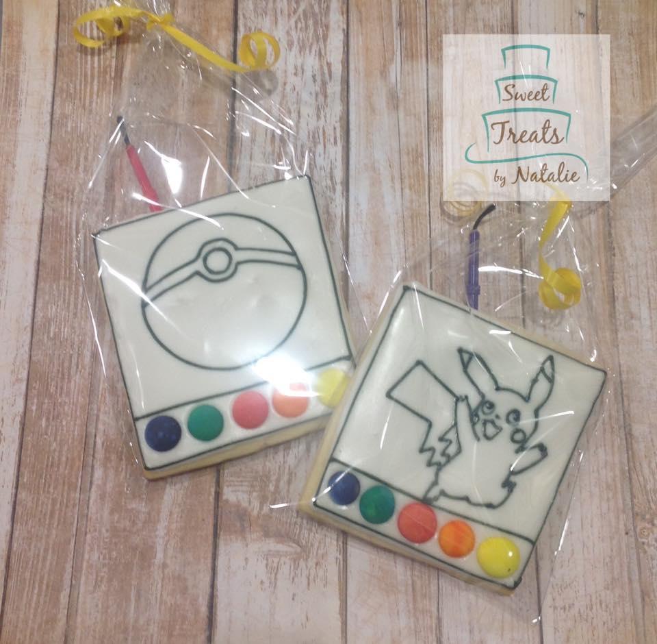Pokemon PYO cookies