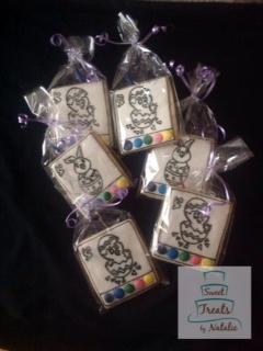 Easter PYO cookies