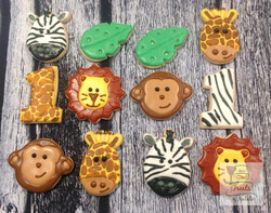 Wild animal cookies