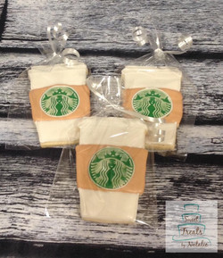 Starbucks cup cookies