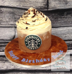 Starbucks buttercream cake
