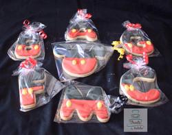 Mickey alphabet cookies