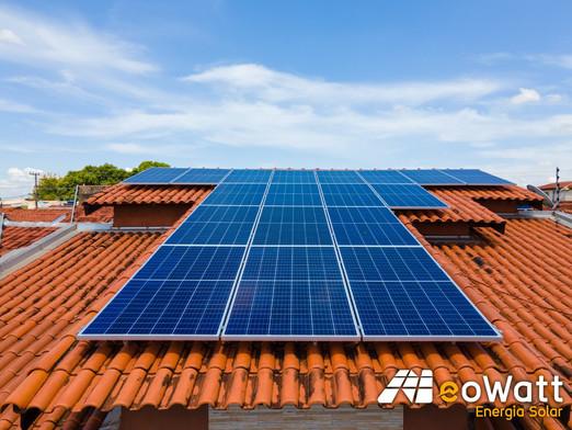 Sistema fotovoltaico de 6,03 kWp