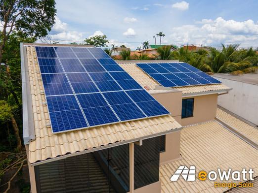 Sistema fotovoltaico de 8,71 kWp