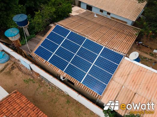 Sistema fotovoltaico de 5,28 kWp
