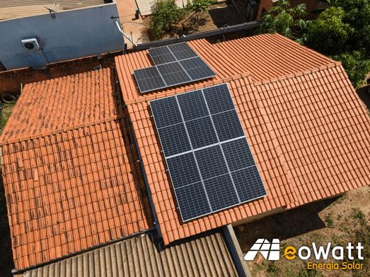 Sistema fotovoltaico de 4,95 kWp