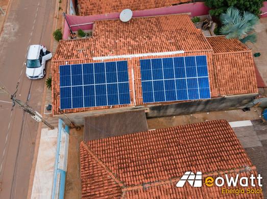 Sistema fotovoltaico de 8,16 kWp