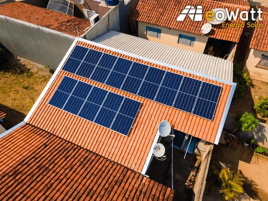 Sistema fotovoltaico de 5,04 kWp