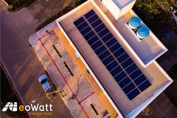 Sistema fotovoltaico de 9,90 kWp