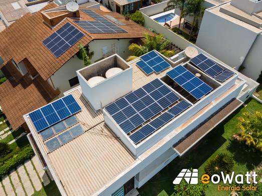 Sistema fotovoltaico de 10,96 kWp
