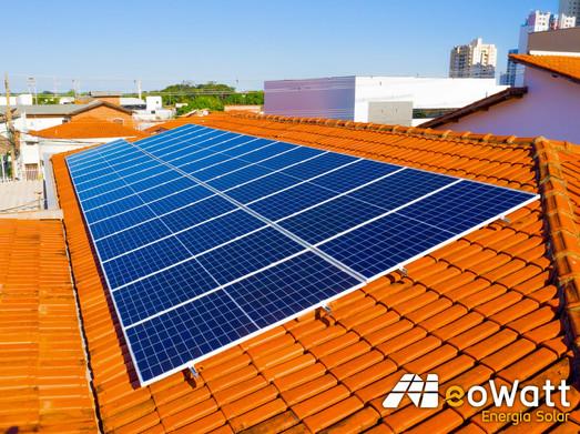 Sistema fotovoltaico de 10,95 kWp