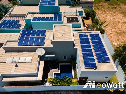 Sistema fotovoltaico de 8,38 kWp