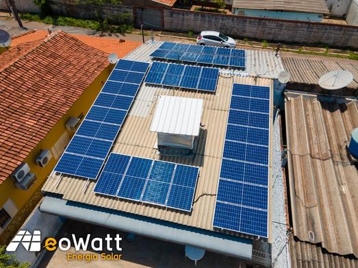 Sistema fotovoltaico de 12,24 kWp