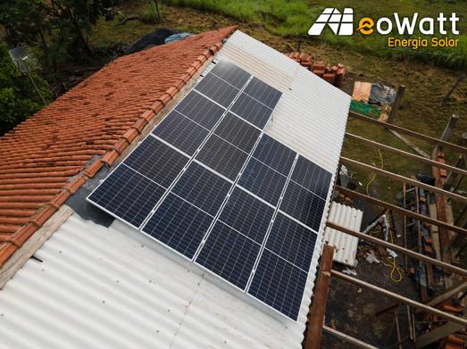 Sistema fotovoltaico de 4,00 kWp