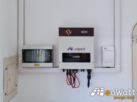 Sistema fotovoltaico de 6,70 kWp