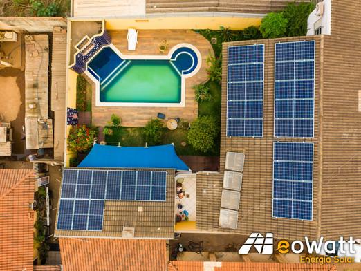 Sistema fotovoltaico de 9,24 kWp