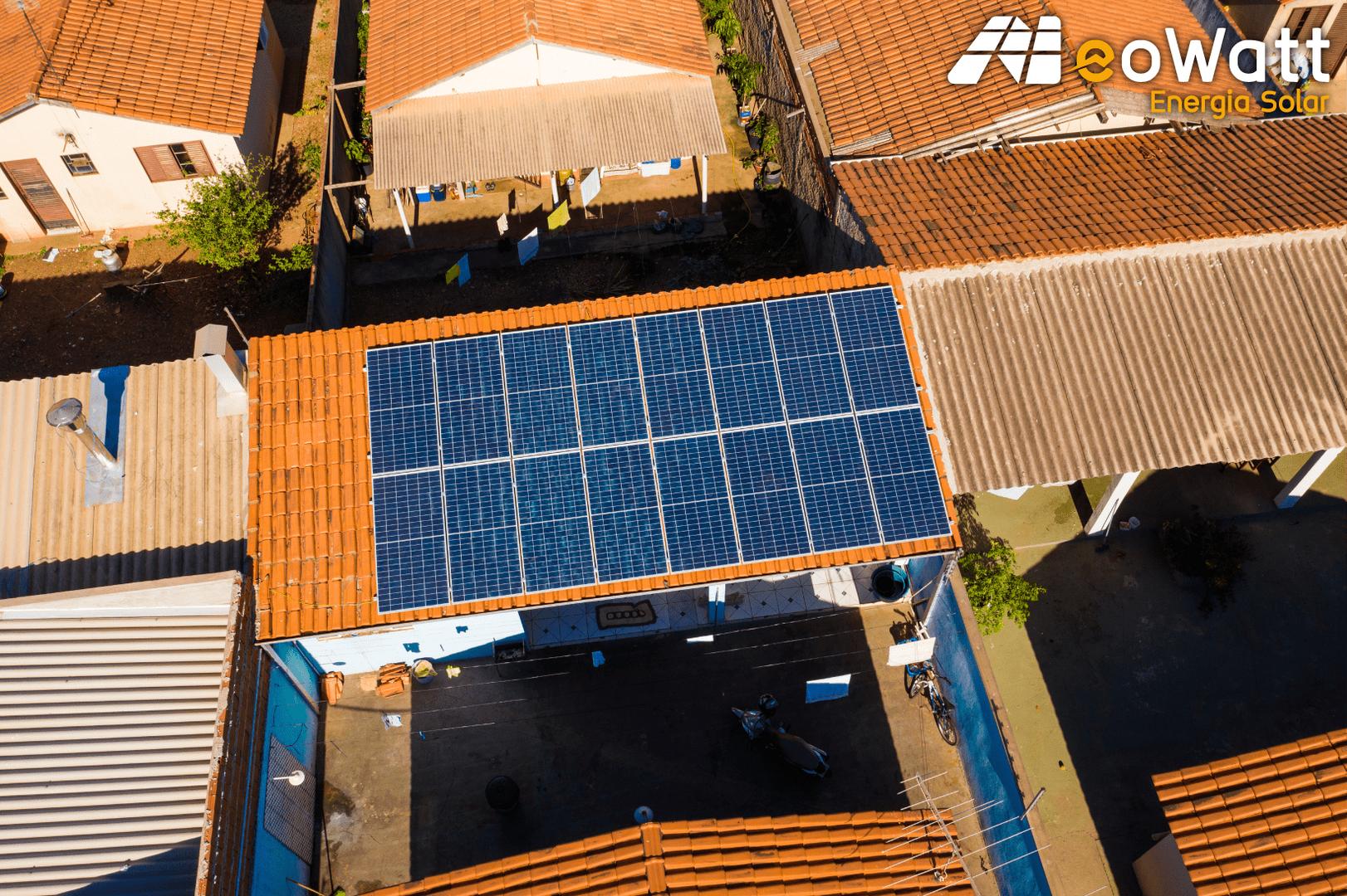 Sistema fotovoltaico de 5,44 kWp
