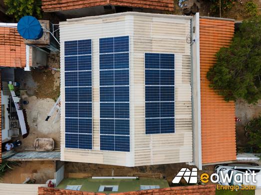 Sistema fotovoltaico de 8,36 kWp