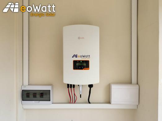 Sistema fotovoltaico de 12,40 kWp