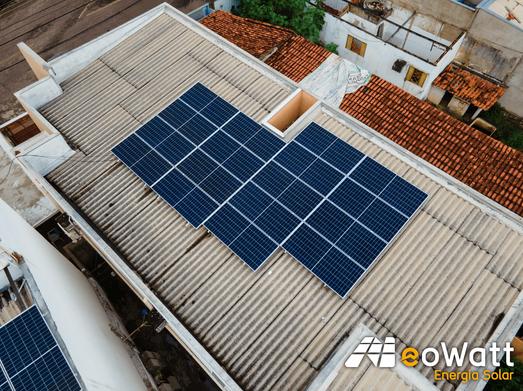 Sistema fotovoltaico de 7,65 kWp