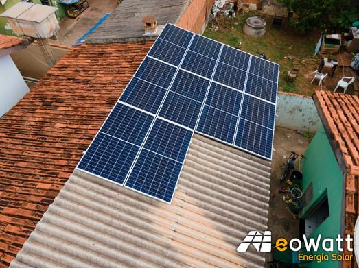 Sistema fotovoltaico de 4,40 kWp
