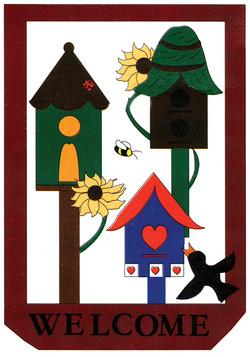 WELCOME BIRDHOUSES
